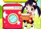 لعبة غسل الملابس