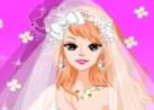 لعبة تلبيس العروسة البيضاء