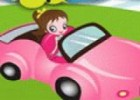 العاب تعليم قيادة السيارة مع البنت
