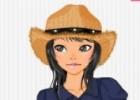 لعبة تلبيس عاشقة القبعات