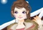 لعبة تلبيس باربي فتاة الثلوج