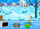 لعبة طبخ كيكة الشتاء