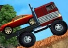 العاب شاحنة نقل السيارات