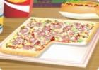 لعبة تزيين البيتزا المربعة
