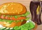 العاب طبخ برجر الدجاج واللحم