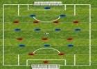 لعبة كرة قدم فرفيرة