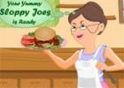العاب طبخ الجدة للبرجر