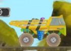 العاب سيارة نقل الصخور 2