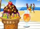 لعبة تزيين ايسكريم الشاطئ