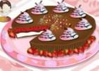 لعبة طبخ فطيرة الشوكولاتة المالحة