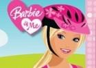 لعبة دراجة باربي الهوائية