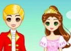لعبة تلبيس الملك والملكة الصغار