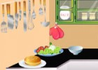 لعبة طبخ الهمبرجر في البيت