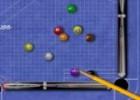لعبة بلياردو قلم الرصاص