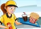 لعبة مطعم السينما السريع