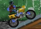 لعبة دراجة المدينة المدمرة