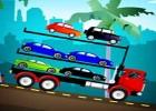 لعبة شاحنة نقل السيارات الجديدة