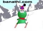 لعبة التزحلق على الثلج