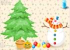 لعبة شجرة عيد الميلاد