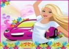 لعبة سيارة باربي وصديقاتها