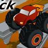 لعبة السيارة المتوحشة العملاقة الحمراء