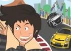 لعبة سيارات سريعة ريكي بوبي في ليالي تالاديجا