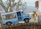 لعبة باص نقل المساجين