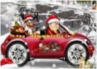 لعبة سباق سيارات بابا نويل
