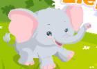لعبة رعاية الفيل الصغير