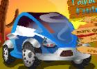 لعبة رجل المرور والسيارات في الشارع