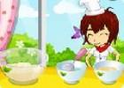 لعبة طبخ كيك فراولة وصديقاتها