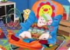 لعبة العناية بالطفل النائم