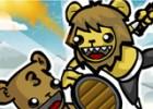 العاب الدببة البربرية