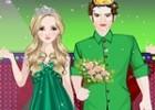 لعبة تلبيس ملك و ملكة الحب