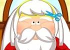 العاب قص شعر بابا نويل
