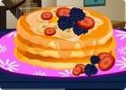 العاب طبخ فطيرة الفراولة والتوت
